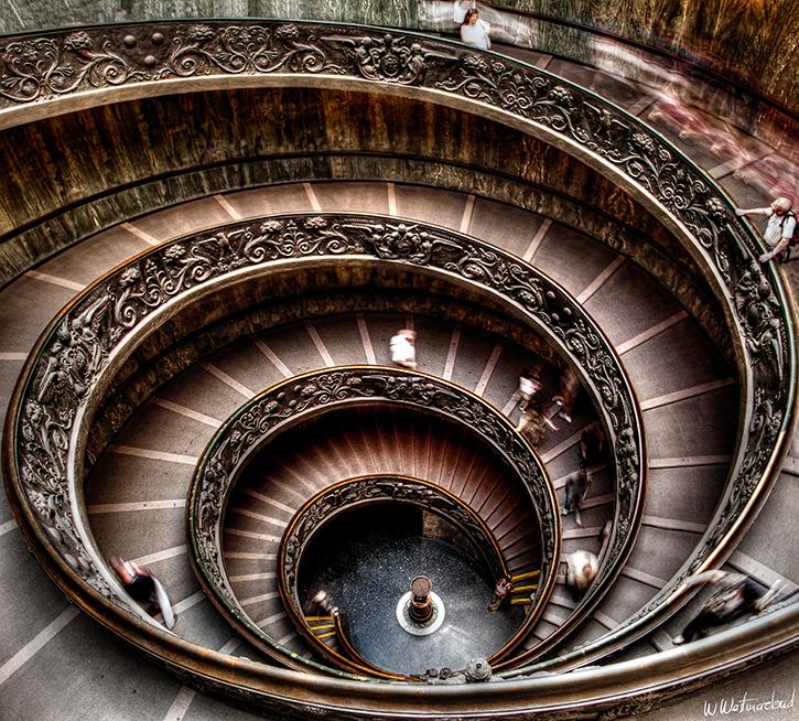 Spiral Staircase scala elicoidale Giuseppe Momo