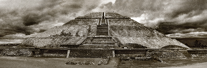 Pyramid of the Sun Teotihuacan