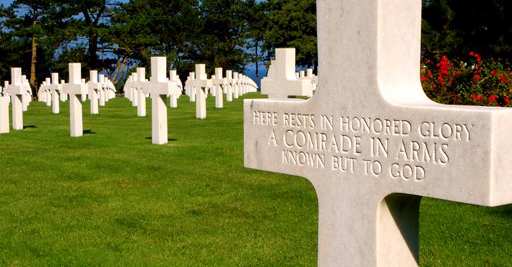 American Cemetery Omaha Beach.