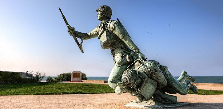 Ever Forward - Omaha Beach memorial