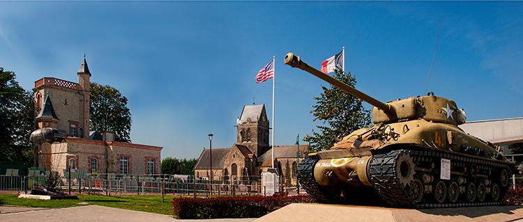 Sherman In Sainte Mere Eglise