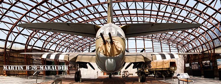 Martin B-26 Marauder Back