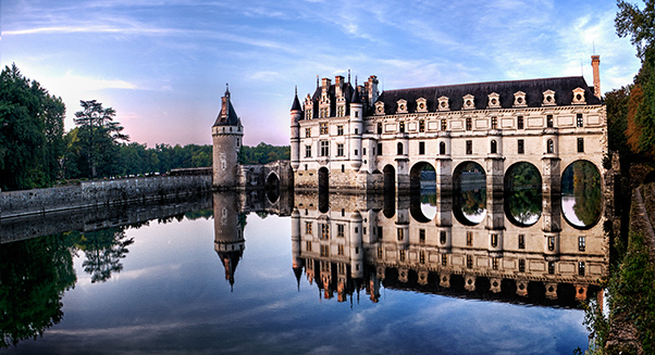 Chenonceau Castle In The Evening - Weston Westmoreland