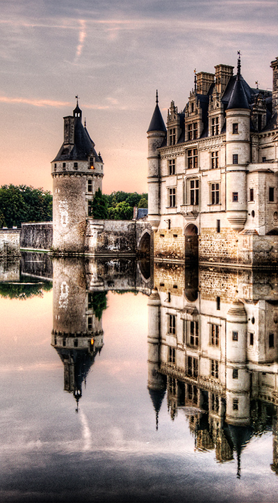 The tower at Chenonceau - Weston Westmoreland
