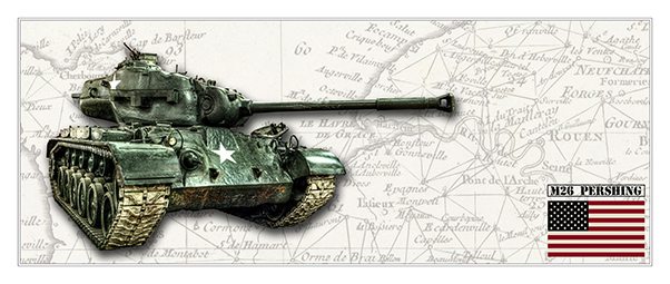M26 Pershing White Map