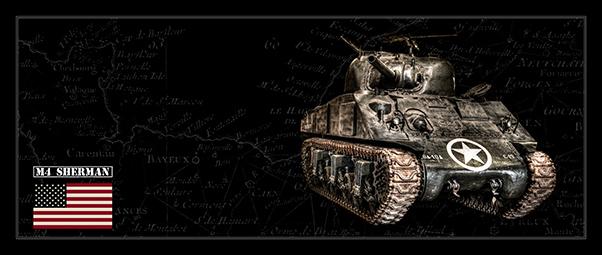 M4 Sherman Tank Bk Bg