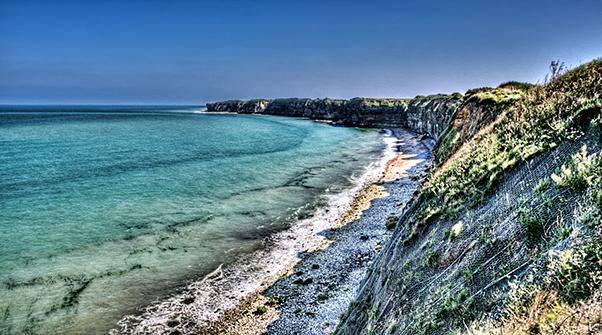 The Cliffs of Pointe Du Hoc