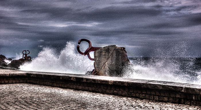 Chillida Comb of the Winds San Sebastian