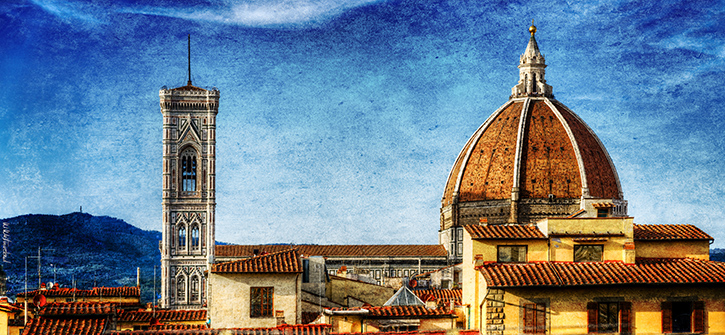 Florence - Duomo And Rooftops