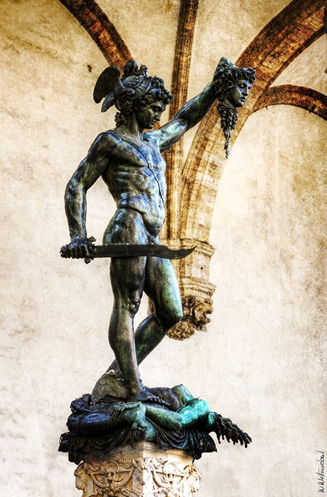 Perseus And Medusa at the Loggia
