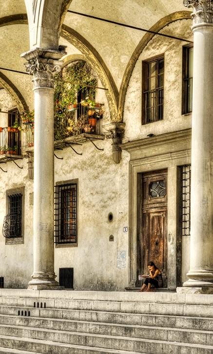 Reader in La Annunziata, FLorence