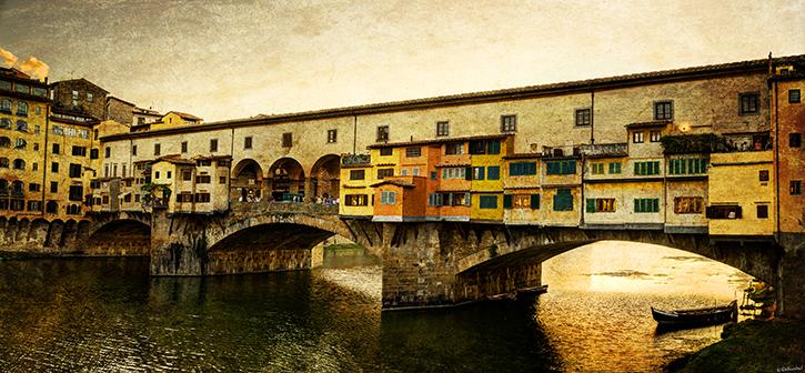 Florence - Ponte Vecchio Sunset