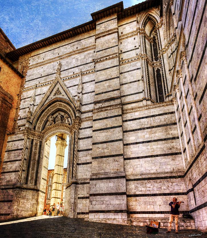 Siena Duomo VIolinist - Weston Westmoreland